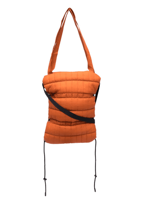 Craig Green quilted-effect tote bag - Orange