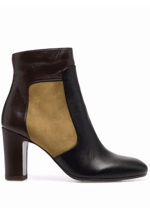 Chie Mihara suede panel boots - Black
