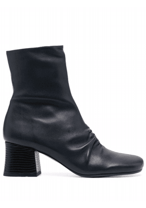 Chie Mihara ruched front boots - Blue