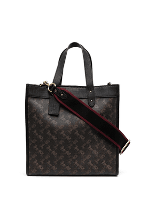 Coach Field Horse and Carriage tote bag - Brown