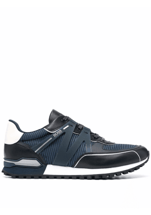 Boss Hugo Boss Parkour panelled low-top sneakers - Blue