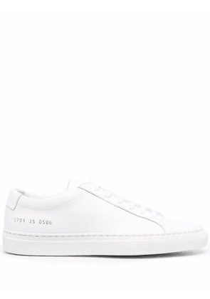 Common Projects lace-up flatform sneakers - White