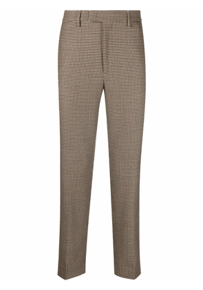 Barena houndstooth-print trousers - Brown