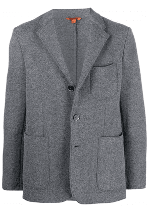 Barena fitted single-breasted jacket - Grey