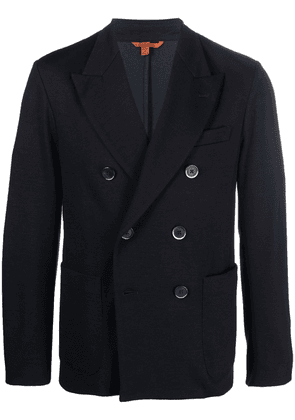 Barena fitted double-breasted jacket - Blue