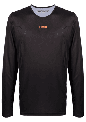 Off-White Active long-sleeve performance T-shirt - Black