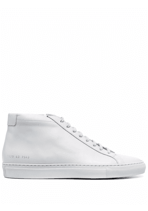 Common Projects lace-up hi-top sneakers - Grey