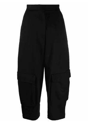 LOEWE cropped tailored trousers - Black