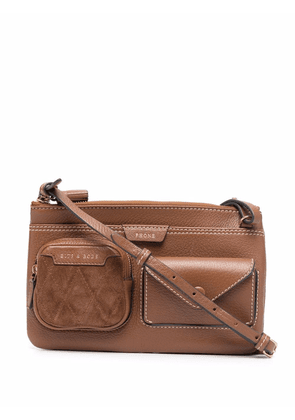 Anya Hindmarch Multi Pocket Pouch bag - Brown