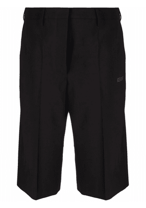 Off-White high-waisted tailored shorts - Black