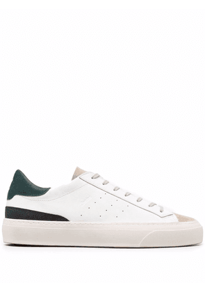 D.A.T.E. panelled leather sneakers - White