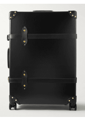 Globe-Trotter - Centenary Check-In Leather-Trimmed Trolley Case - Men - Black