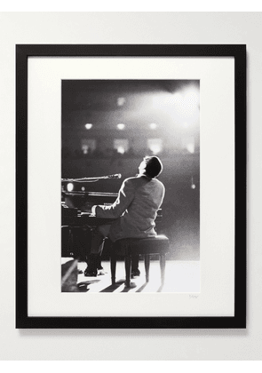 """Sonic Editions - Framed 1966 Ray Charles at Carnegie Hall Print, 16"""" x 20"""" - Men - Multi"""