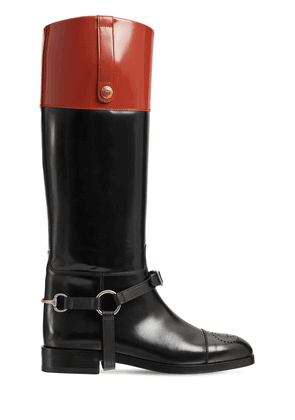 20mm Zelda Tall Leather Boots