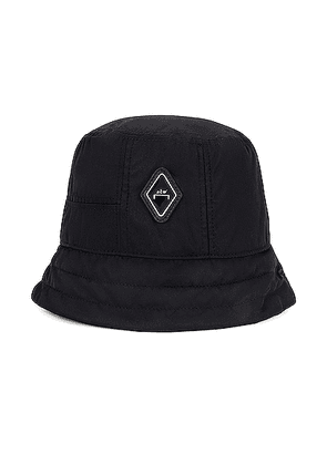 A-COLD-WALL* Cell Bucket Hat in Black - Black. Size all.