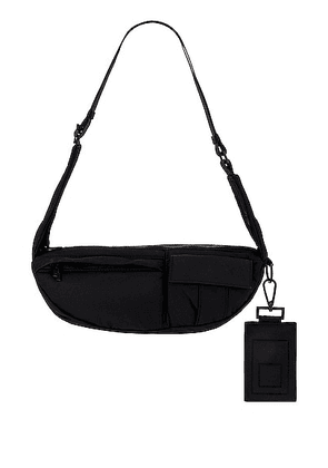 A-COLD-WALL* Photon Cross Body in Black - Black. Size all.