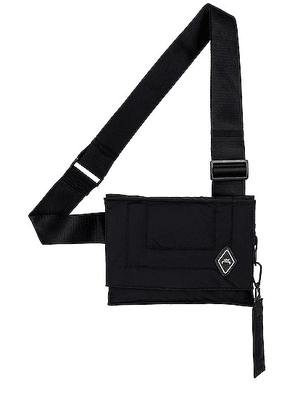 A-COLD-WALL* Convect Holster Bag in Black - Black. Size all.