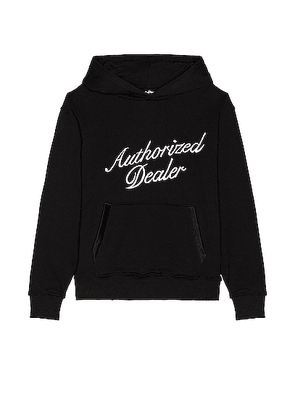Just Don Fleece Hoodie in Black - Black. Size L (also in M, S, XL/1X).