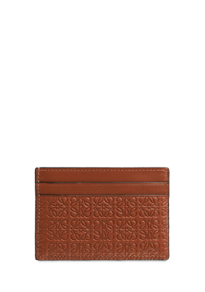 Repeat Embossed Leather Card Holder