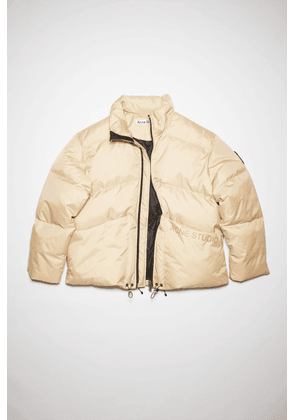 Acne Studios FN-MN-OUTW000650 Biscuit beige Down-filled jacket