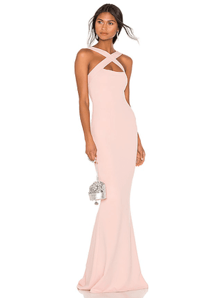 Nookie Viva 2Way Gown in Pink. Size S.