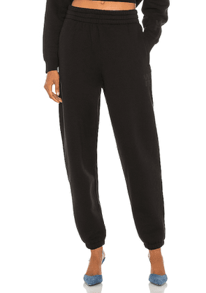 T by Alexander Wang Foundation Terry Classic Sweatpant in Black. Size M, S, XS.
