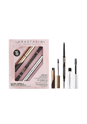 Anastasia Beverly Hills Natural Looking & Budge Proof Brow Kit in Beauty: NA.