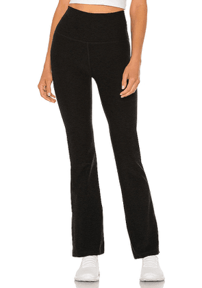 Beyond Yoga High Waisted Practice Pant in Charcoal. Size XS, S, L.