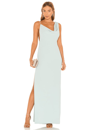 Amanda Uprichard X REVOLVE Arial Gown in Mint. Size L, S.