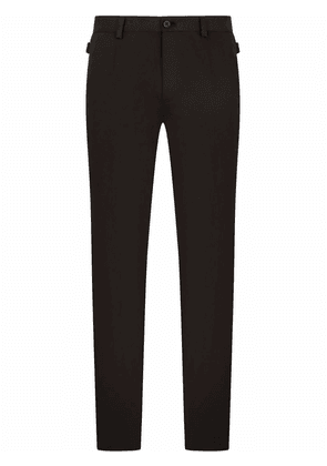 Dolce & Gabbana tailored slim-fit trousers - Black