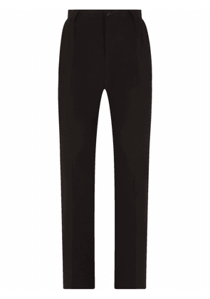 Dolce & Gabbana high-waisted tailored trousers - Black