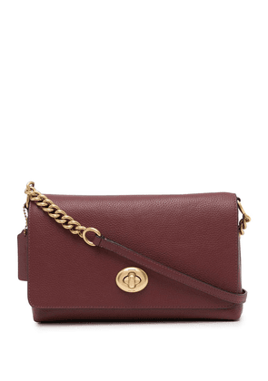 Coach Crosstown leather crossbody bag - Red