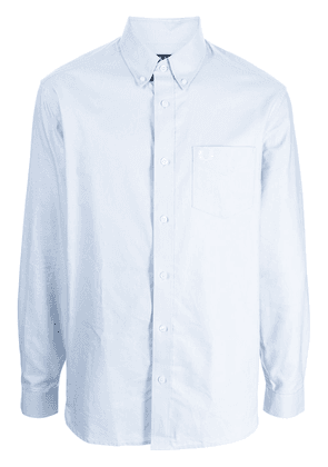 FRED PERRY Oxford long-sleeve cotton shirt - Blue