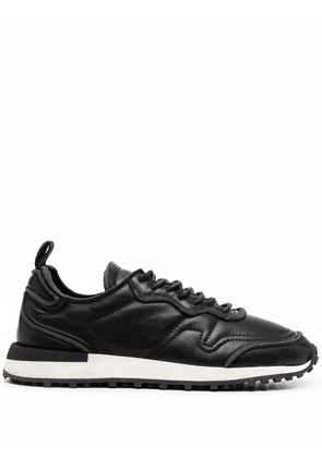 Buttero low-top leather sneakers - Black