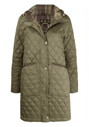 Barbour Dornoch diamond-quilted coat - Green