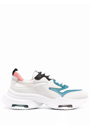 ASH Octapus leather sneakers - White