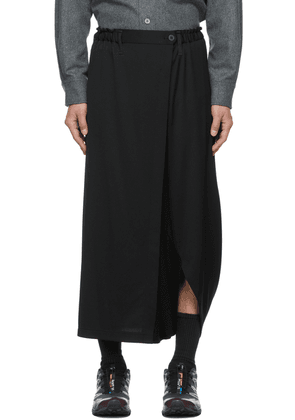 132 5. ISSEY MIYAKE Recycled Dropped Inseam Bottom Basic Trousers