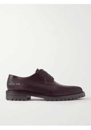 Common Projects - Leather Derby Shoes - Men - Burgundy - EU 41