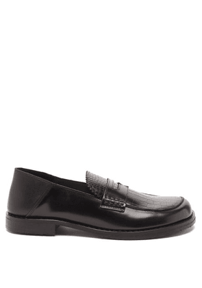 Eytys - Otello Leather Penny Loafers - Mens - Black