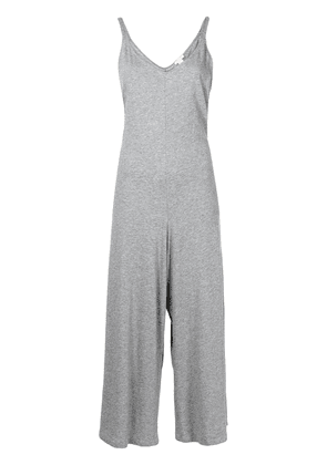 Eberjey Charlie Casual cotton jumpsuit - Grey