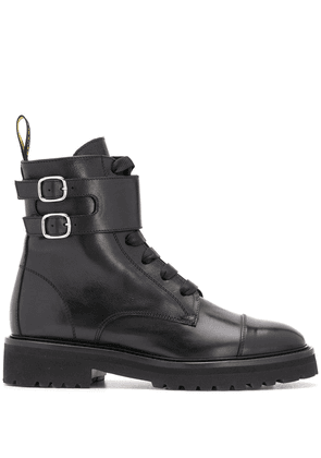 Doucal's cargo ankle boots - Black