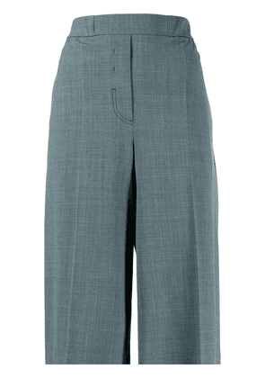 Off-White high-waisted tailored shorts - Green