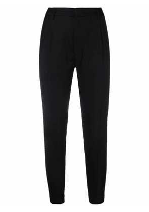 DONDUP cropped slim-fit trousers - Black
