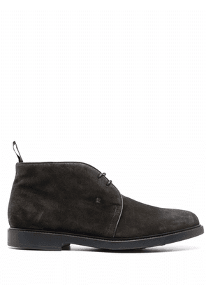 Fratelli Rossetti suede lace-up shoes - Grey