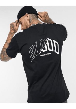 Blood Brother liverpool t-shirt in black