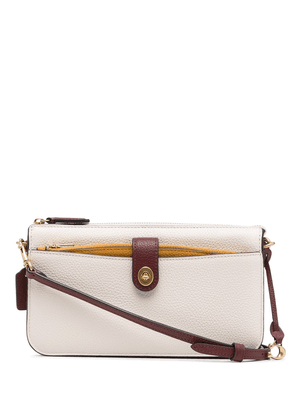 Coach removable-pouch crossbody bag - White
