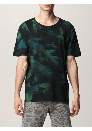 Saint Laurent cotton Tshirt with shaded print
