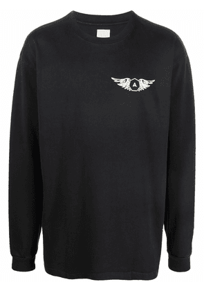Alchemist Hell or High Water long-sleeved T-shirt - Black