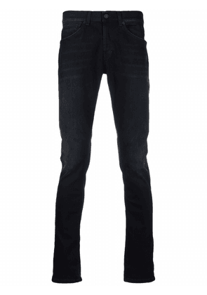 DONDUP faded slim fit jeans - Black