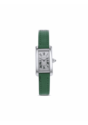Cartier 1990s pre-owned Mini Tank 27mm - Silver